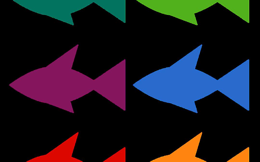 Pobawmy się razem – kolorowa rybka